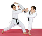 Sport karate — Stockfoto