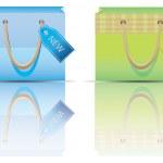 Shopping bag. — Stock Vector