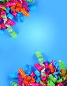 Party Streamer Celebration Background — Stock Photo