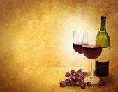 Wine Glass Celebration Background Area — Stock Photo