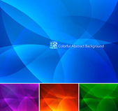 Colorful Abstract Background part — Stock Vector