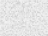 Flat binary code screen — Stock Photo