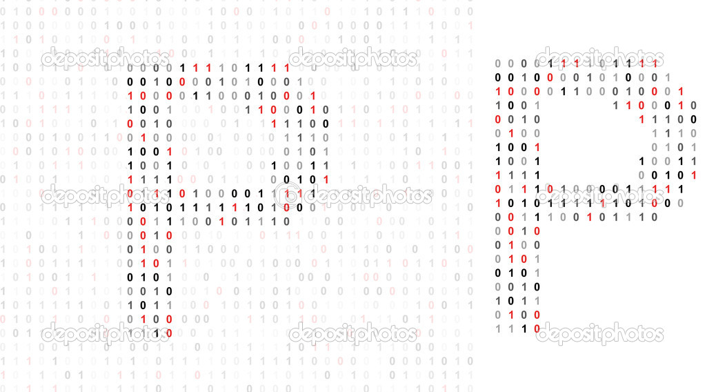how to read binary alphabet