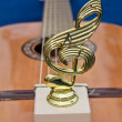 Musical figurine mark — Stock Photo