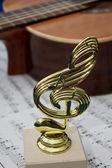 Hudební figurka marka — Stock fotografie
