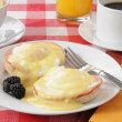 Royalty-Free Stock Photo: Eggs Benedict