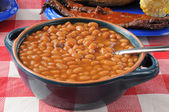 Boston baked beans — Stock Photo