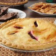 Hot cherry pie — Stock Photo #11406729