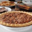 Pecan pie — Stock Photo