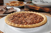 Pecan pie — Stock Photo