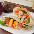Healthy school lunch — Stockfoto