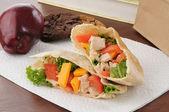 Healthy school lunch — Stock Photo