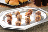Party tray of appetizers — Foto de Stock