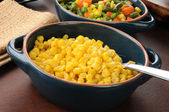 Serving dish of corn — Stock Photo