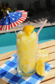 Frozen lemonade — Stock Photo