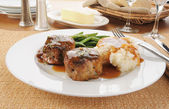 Pork or beef tenderloins — Stock Photo