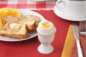 Soft boiled egg — Stock Photo
