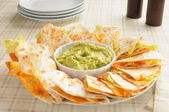 Cheese quesadillas — Stock Photo
