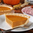 Thanksgiving feast - Stockfoto