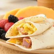 Breakfast burrito — Stock Photo #12369172