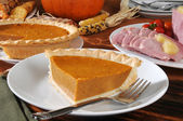 Thanksgiving feast — Stockfoto