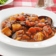 Stock Photo: Bowl of beef stew