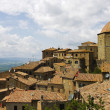 Landscape of Volterra, Tuscany, Italy - Stock Photo