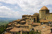 Landscape of Volterra, Tuscany, Italy — Stock Photo