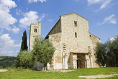 Antimo's Abbey in Tuscany, Italy — ストック写真
