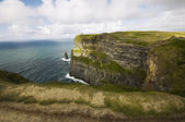 View on the Cliffs of Moher, Ireland — Stock Photo