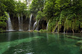 Landscape of the Plitvice Lakes, Croatia — Stock Photo