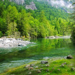 Stock Photo: Val di Mello, Sondrio