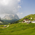 Dolomites landscape — Stock Photo