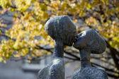 Statue in dublin — ストック写真