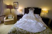 The wedding dress — Stock Photo