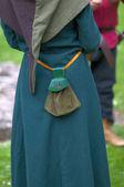 Ortaçağ çanta — Stok fotoğraf