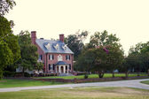 Upscale home in historic Yorktown, Virginia. — Stock Photo