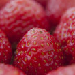 Fresh strawberries closeup .texture bluenerry, selective focus — Stock Photo #11463953