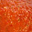 Gazpacho texture — Stock Photo