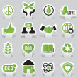 Labels - eco — Stock Vector #11389949
