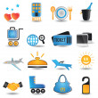 Stock Vector: Set of travel icons - part 2