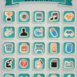 Set of education icons - part 3 — Stock Vector