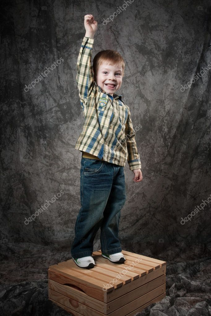 Photo of adorable young boy — Stock Photo #11043528