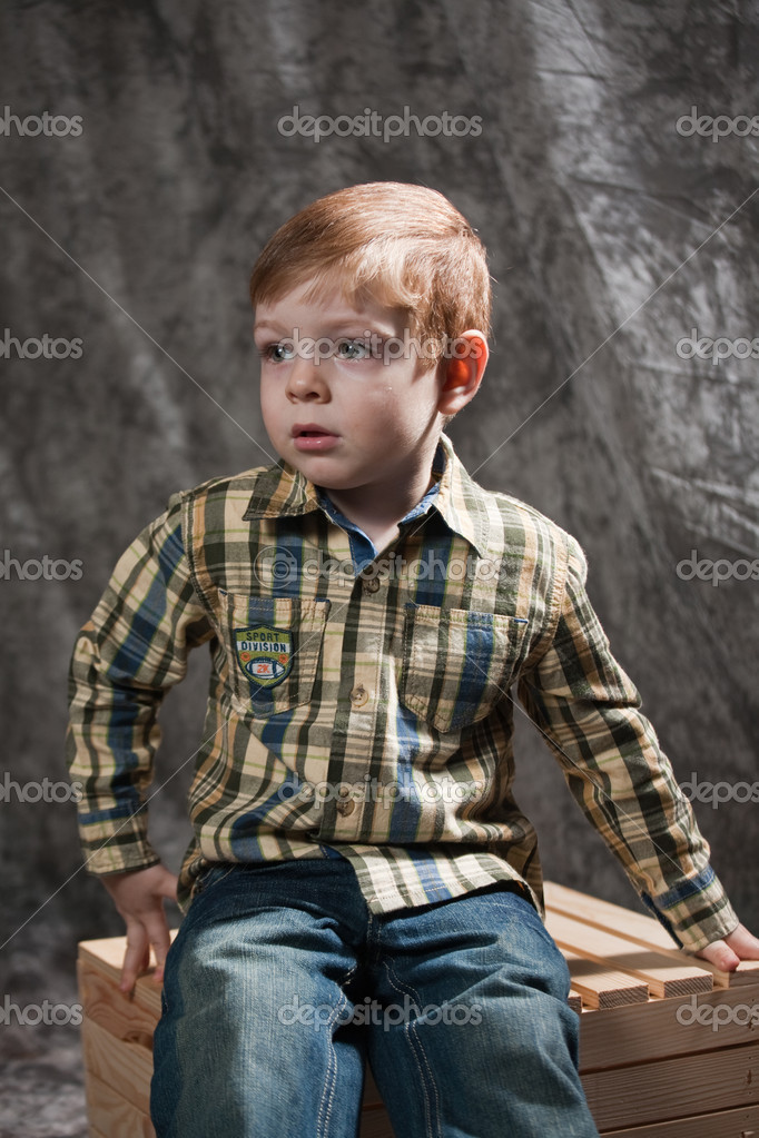 Photo of adorable young boy — Stock Photo #11043691