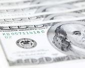 Banconote del dollaro — Foto Stock