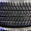 Stock Photo: Car tires closeup