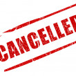 Cancelled stamp - Stock Photo