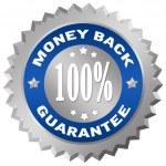 Money back guarantee — Stock Photo