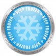 Keep frozen icon — Stockfoto