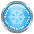 Keep frozen icon - Stockfoto